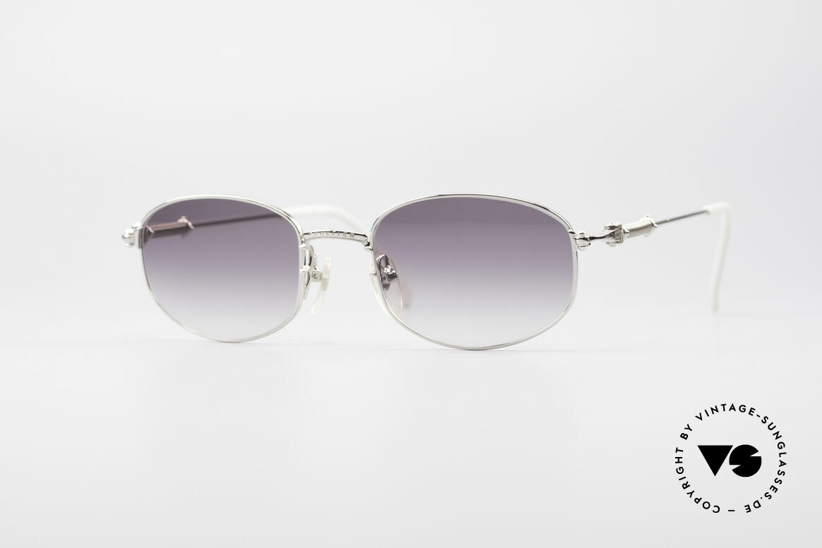 Jean Paul Gaultier 55-6102 True Vintage No Retro Specs, valuable and creative Jean Paul Gaultier design, Made for Men and Women