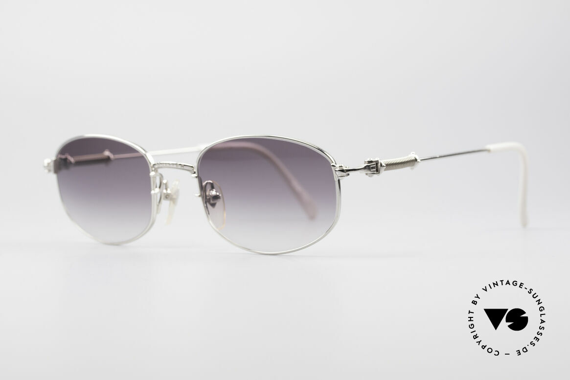 Jean Paul Gaultier 55-6102 True Vintage No Retro Specs, gray-gradient sun lenses for 100% UV protection, Made for Men and Women