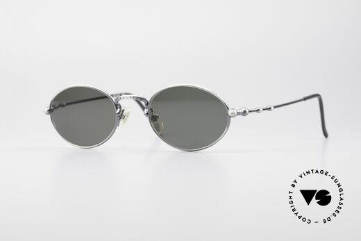 Jean Paul Gaultier 55-7106 Oval Vintage Sunglasses Details