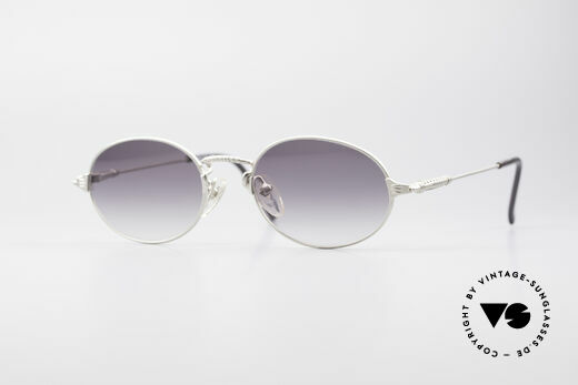 Jean Paul Gaultier 55-6108 Oval Vintage Sunglasses Details