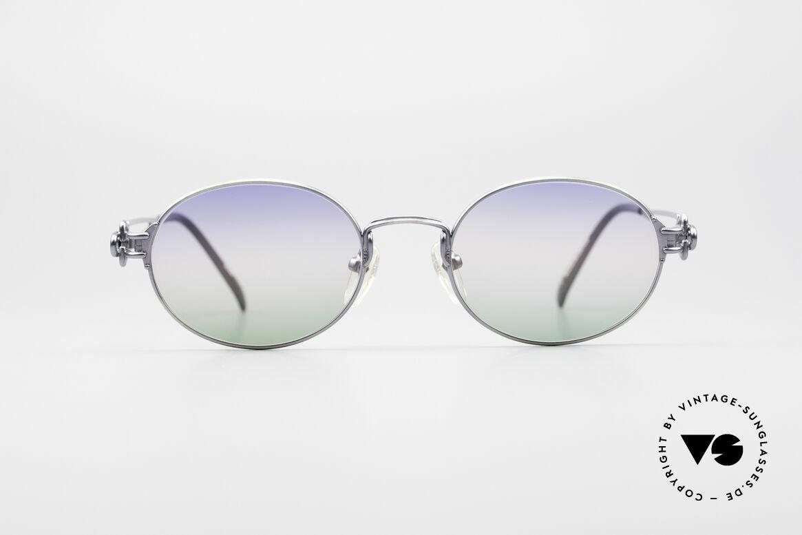 Jean Paul Gaultier 55-6112 Oval Designer Sunglasses