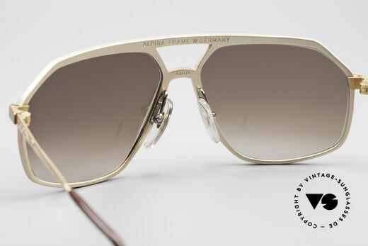 Alpina M6 Old 80's West Germany Shades, never worn (like all our rare old Alpina sunglasses), Made for Men