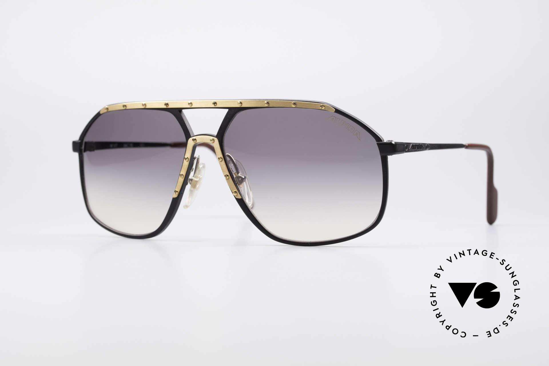 Alpina M1/7 Iconic Vintage Sunglasses, legendary ALPINA M1/7 vintage designer sunglasses, Made for Men