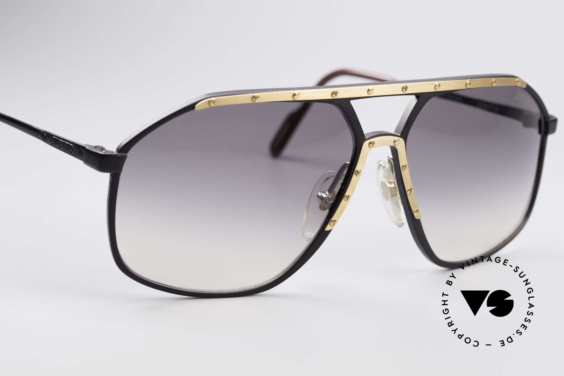 Alpina M1/7 Iconic Vintage Sunglasses, one of the most wanted vintage models, WORLDWIDE, Made for Men