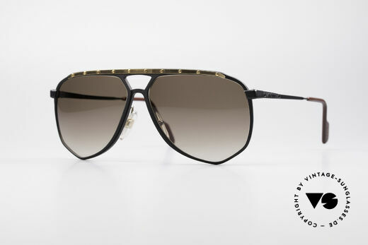 Alpina M1/4 Rare Vintage Sunglasses Details