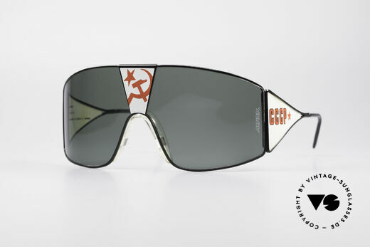 Alpina Talking Glasses Glasnost Gorbatschow Shades Details