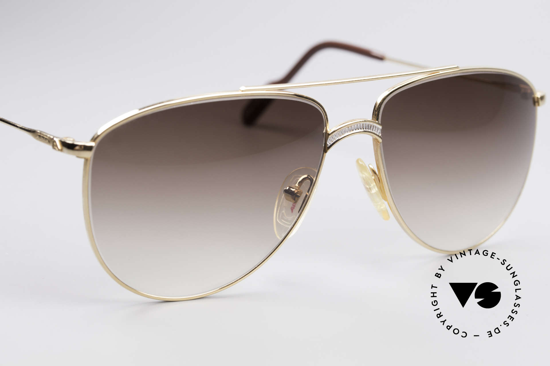 Alpina FM81 Vintage Classic 80's Shades, NO RETRO shades, but an old ORIGINAL + Versace case, Made for Men