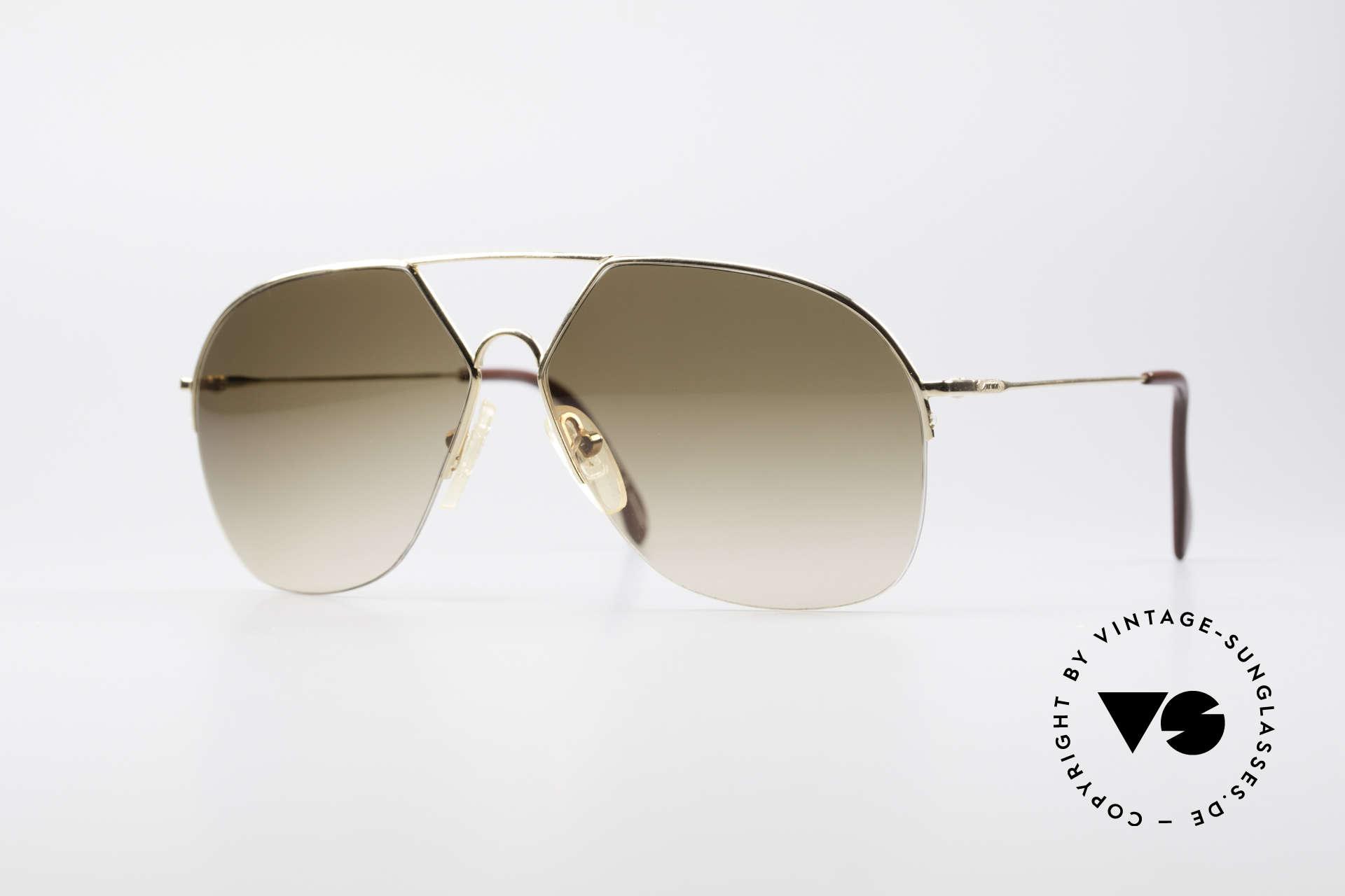 Alpina TR7 Rimless 80's Aviator Frame, rare Alpina 80's sunglasses (made in W.Germany), Made for Men