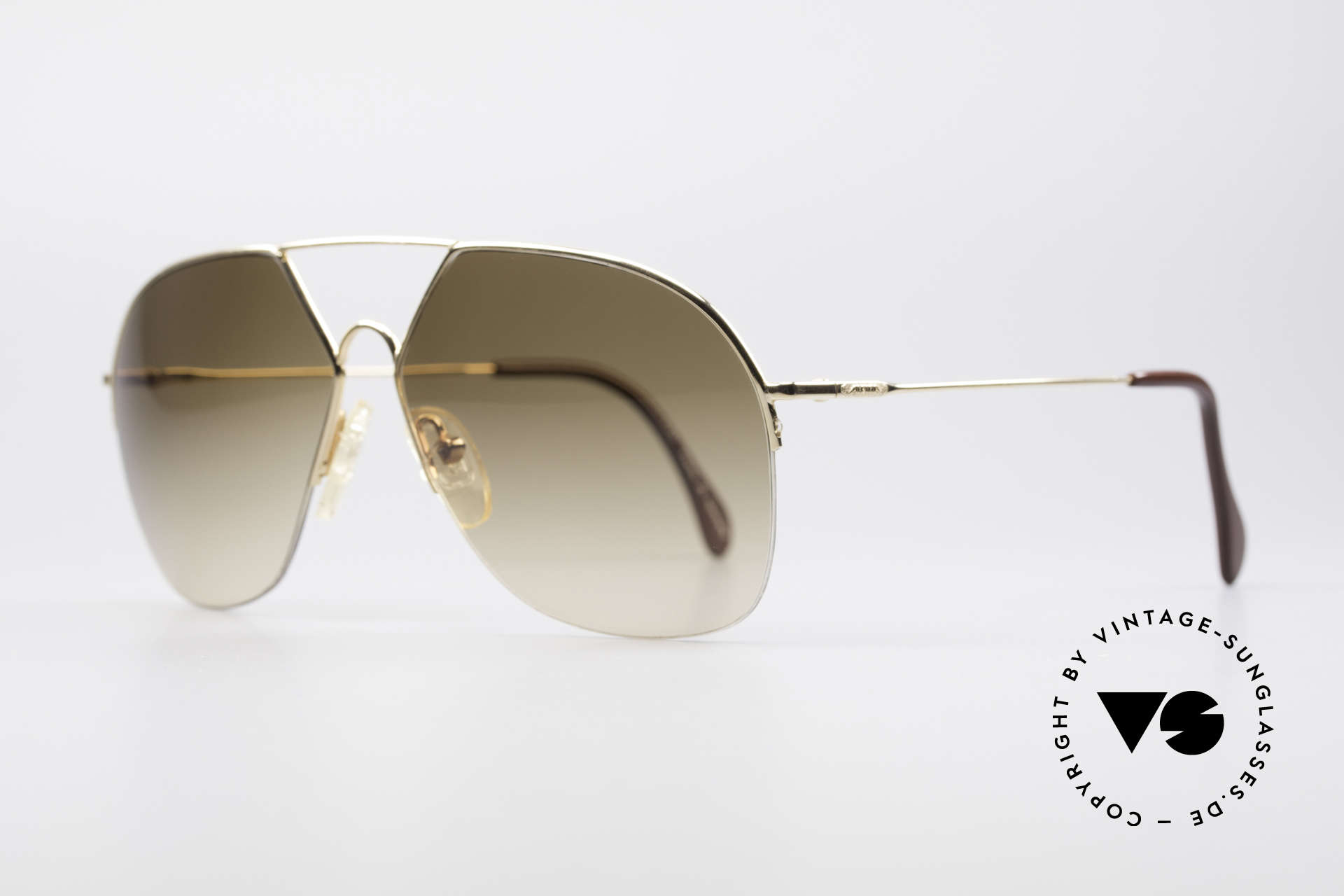 Alpina TR7 Rimless 80's Aviator Frame, high functionality & best craftsmanship (100% UV), Made for Men