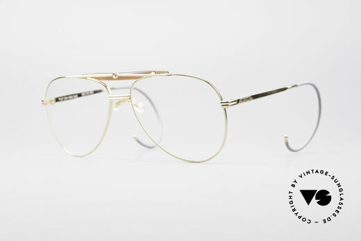 Alpina PCF Gold Plated 90's Sports Frame Details
