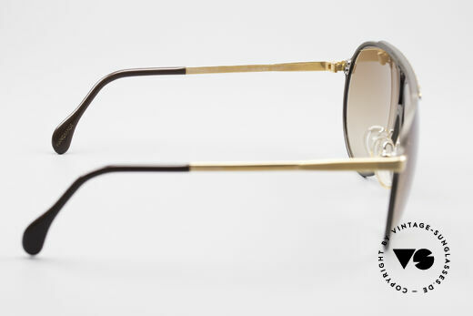 Alpina M1 Iconic West Germany Frame, brown/gold-plated frame with brown-gradient lenses, Made for Men and Women