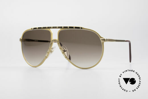 Alpina M1 True Vintage 80s Sunglasses Details