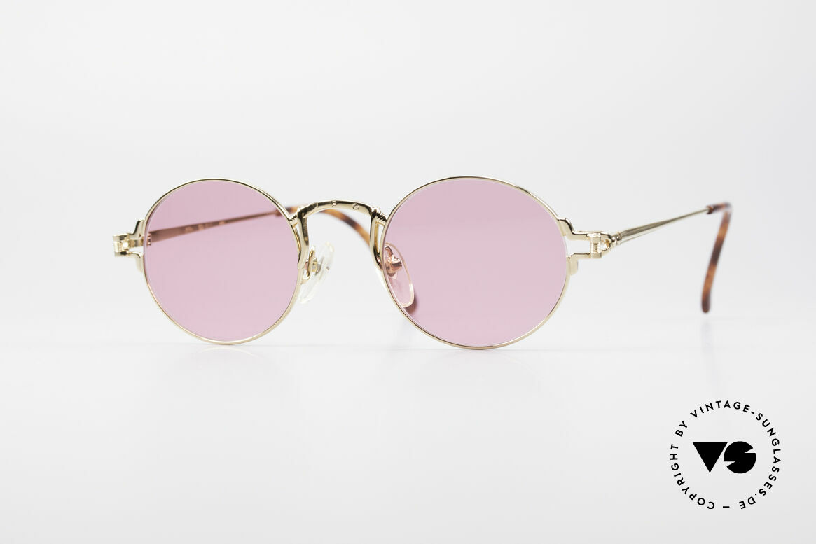 Jean Paul Gaultier 55-3171 Small Round Sunglasses