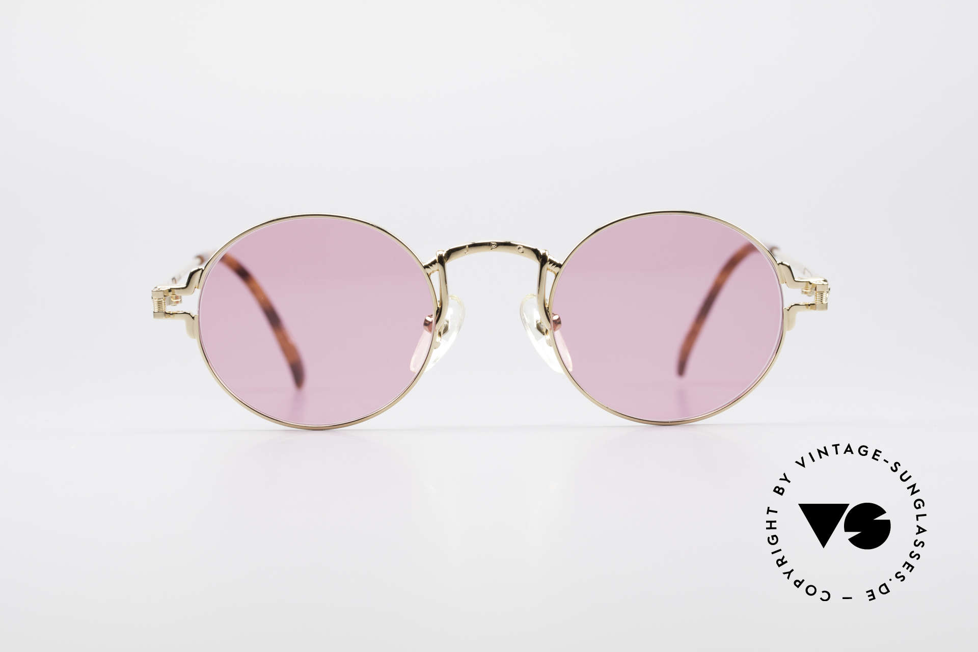 8b7d41635 Sunglasses Jean Paul Gaultier 55-3171 Small Round Sunglasses ...