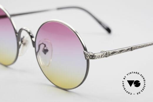 Jean Paul Gaultier 55-9671 Round Designer Sunglasses