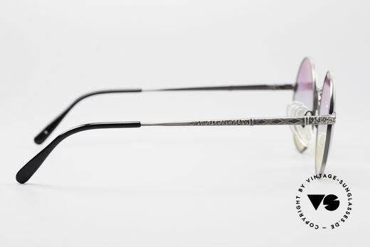 Jean Paul Gaultier 55-9671 Round Designer Sunglasses, frame can be glazed with optical lenses, too!, Made for Men and Women
