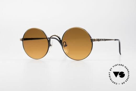 Jean Paul Gaultier 55-9671 Round 90's JPG Sunglasses Details