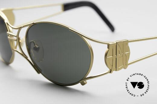 Jean Paul Gaultier 58-6101 90's Steampunk Sunglasses