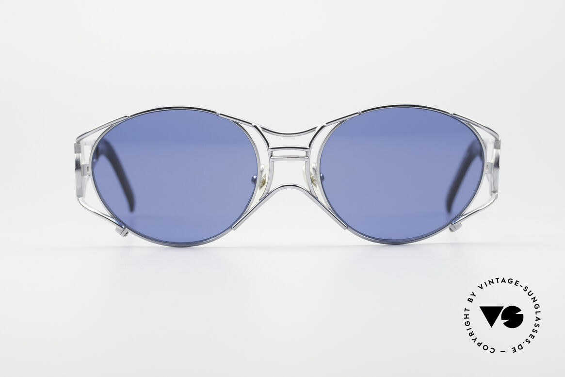 Jean Paul Gaultier 58-6101 JPG Steampunk Sunglasses, mechanical / industrial frame construction from '97, Made for Men and Women