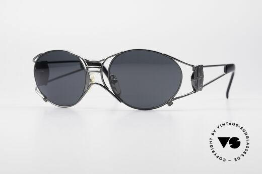 Jean Paul Gaultier 58-6101 Steampunk 90's Sunglasses Details