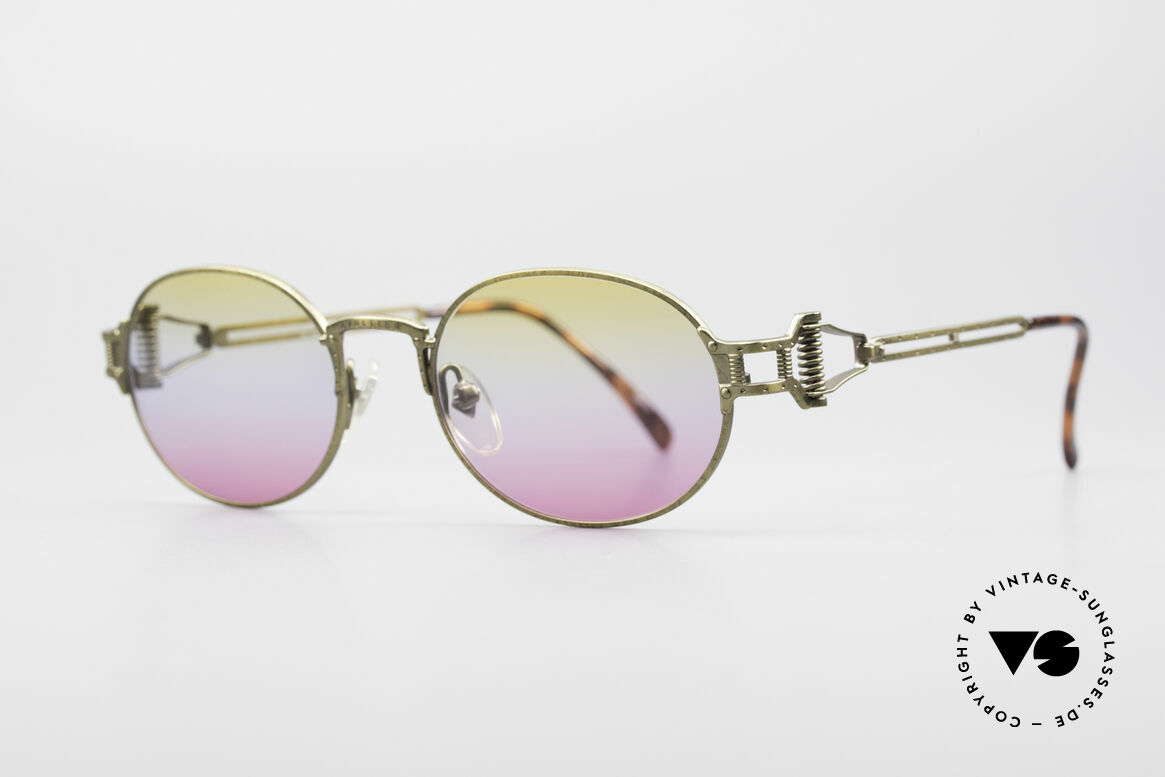 "Jean Paul Gaultier 55-5110 Extraordinary Vintage Frame, often called as ""STEAMPUNK glasses"" these days, Made for Men and Women"