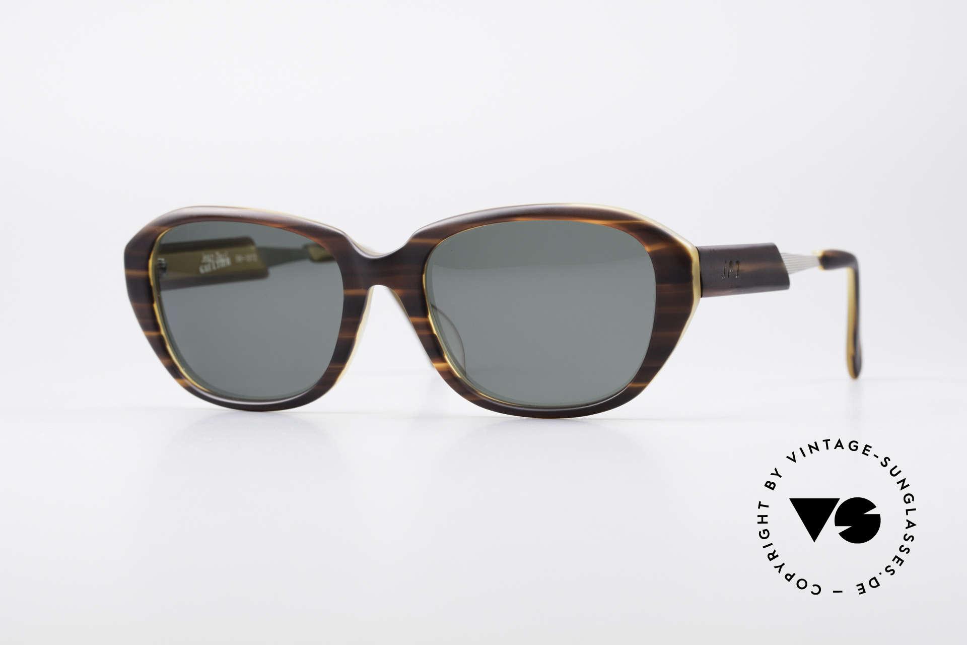 Jean Paul Gaultier 56-1072 90's Designer Sunglasses, 1990s vintage designer sunglasses by Jean P. Gaultier, Made for Men and Women