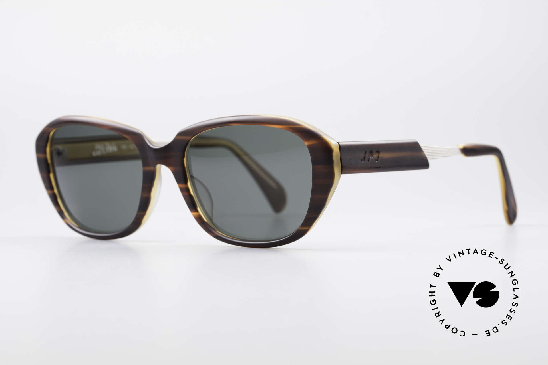 Jean Paul Gaultier 56-1072 90's Designer Sunglasses, tangible top-quality .. distinctive JPG, made in Japan, Made for Men and Women