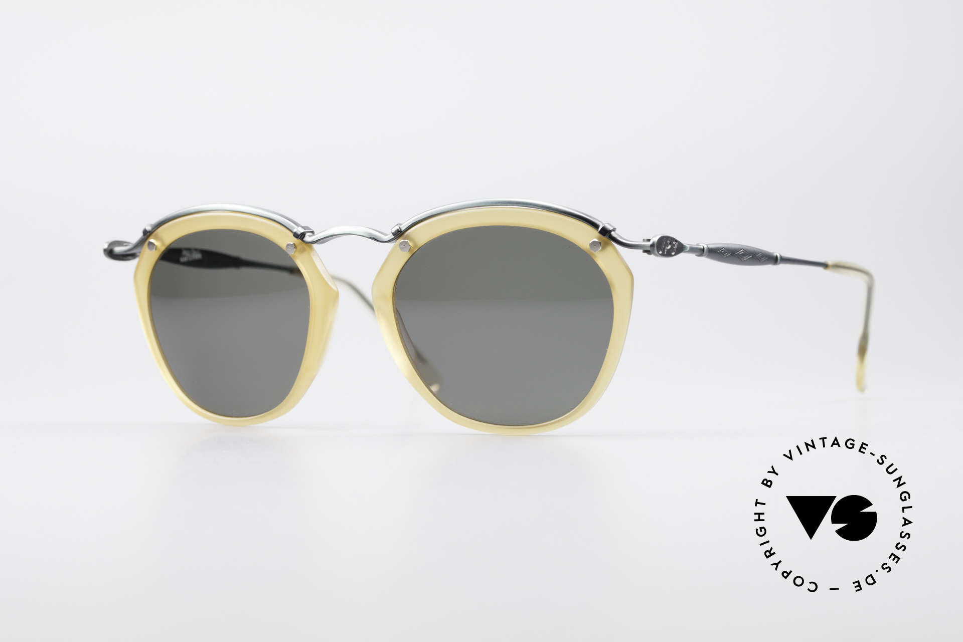 Jean Paul Gaultier 56-1273 Panto Style Sunglasses, noble vintage sunglasses by Jean Paul Gaultier, Made for Men and Women
