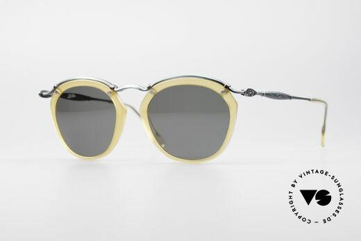 Jean Paul Gaultier 56-1273 Panto Style Sunglasses Details