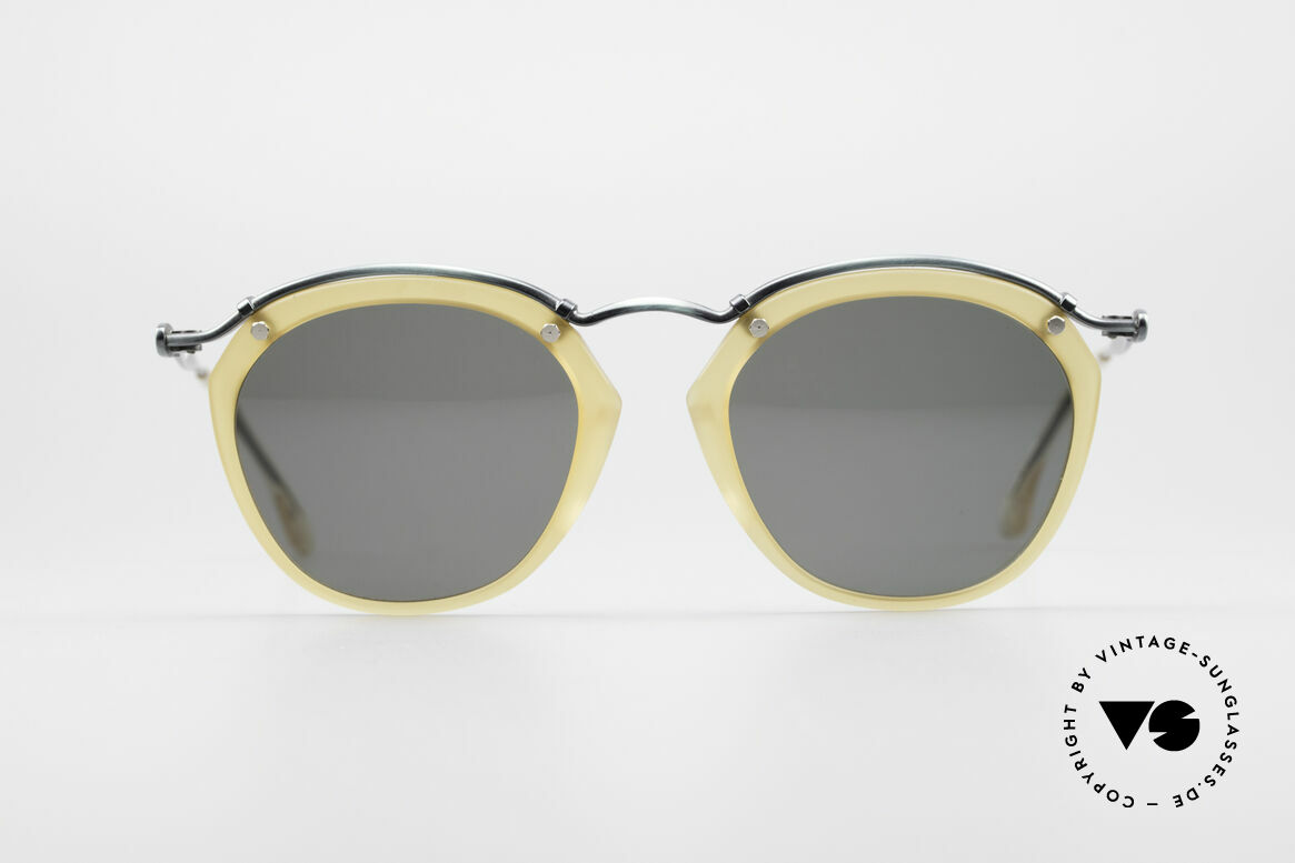 "Jean Paul Gaultier 56-1273 Panto Style Sunglasses, Gaultiers interpreation of a ""panto sunglasses"", Made for Men and Women"