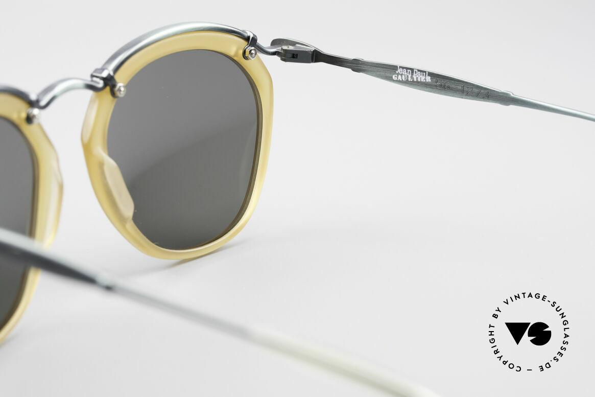Jean Paul Gaultier 56-1273 Panto Style Sunglasses