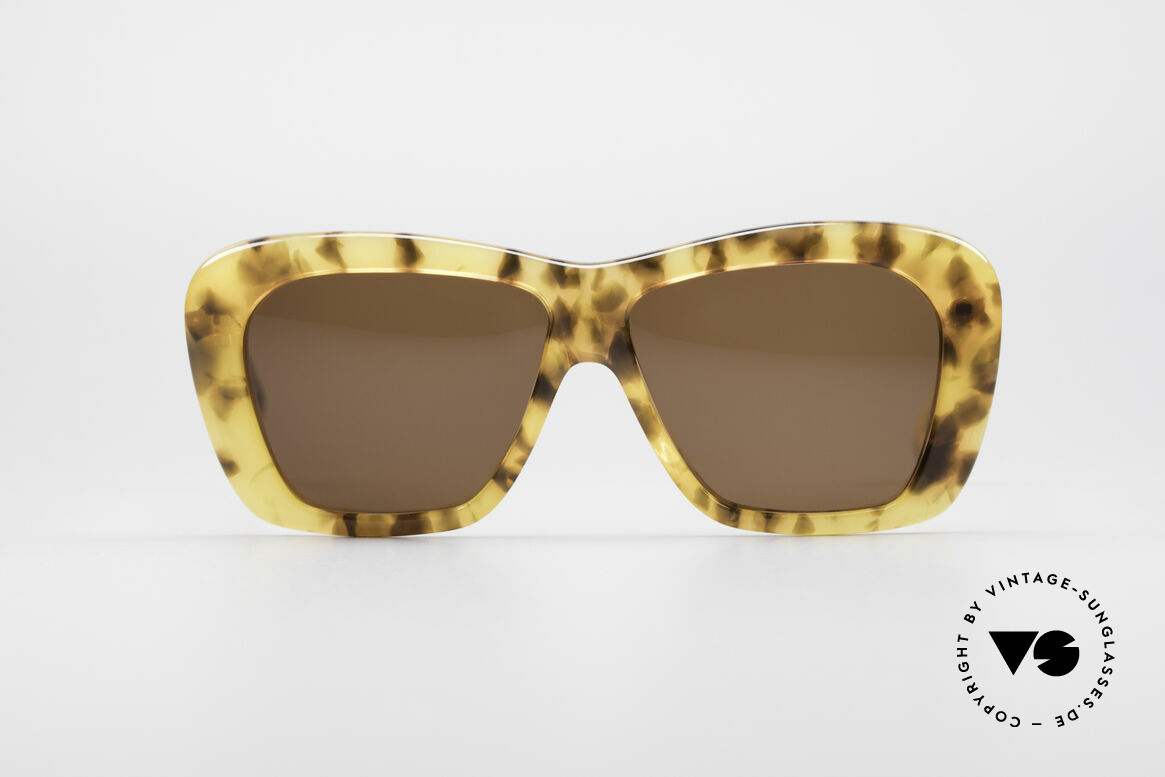 Emilio Pucci PU63 Jackie Kennedy Sunglasses, interesting vintage designer sunglasses by Emilio Pucci, Made for Women