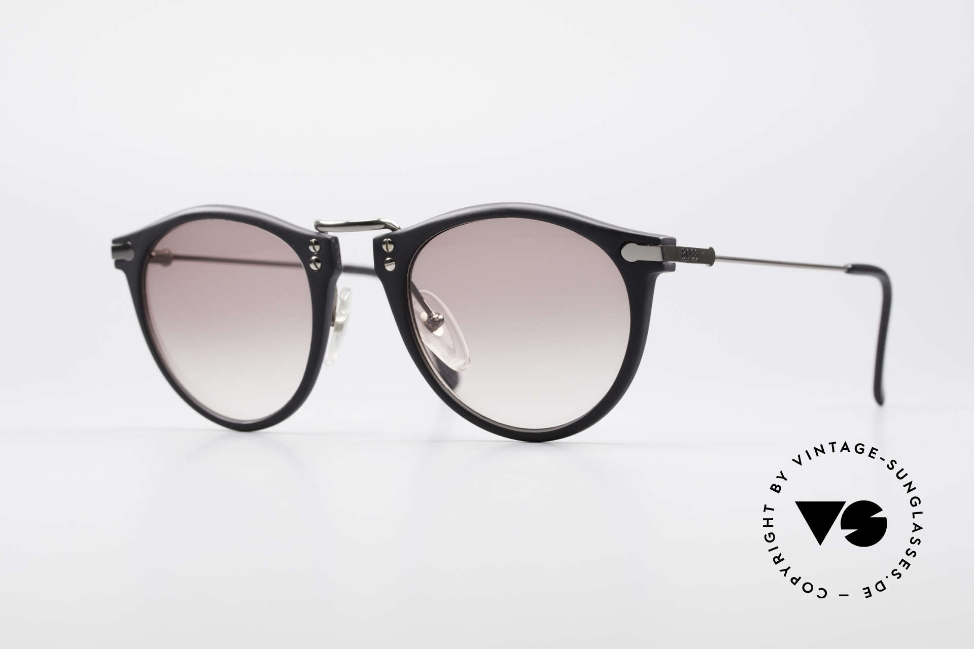 BOSS 5152 - L Panto Style Sunglasses Large, classic vintage 'panto design' sunglasses by BOSS, Made for Men