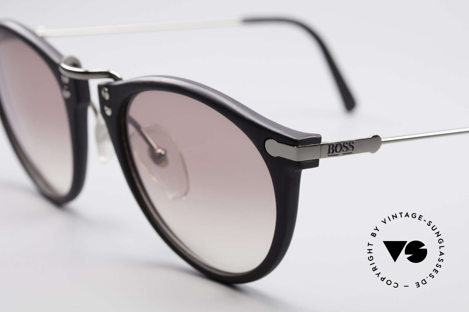 BOSS 5152 - L Panto Style Sunglasses Large, timeless combination of colors, design & materials, Made for Men