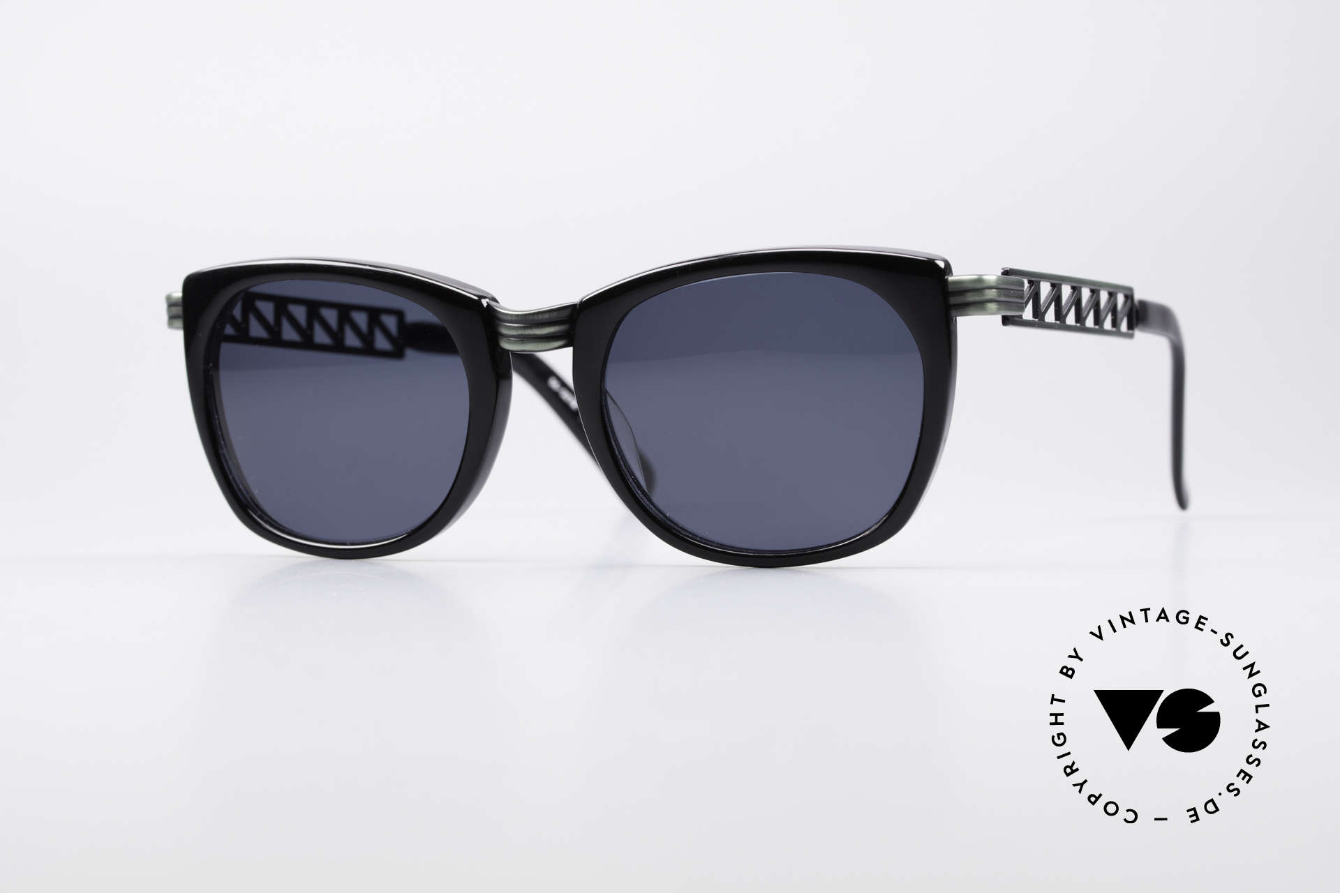 Jean Paul Gaultier 56-0272 Steampunk 90's Sunglasses, vintage designer sunglasses by J.P. GAULTIER, Made for Men and Women