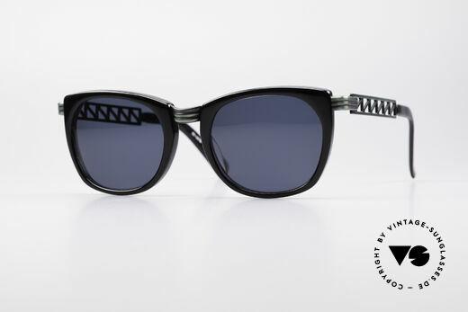 Jean Paul Gaultier 56-0272 Steampunk 90's Sunglasses Details
