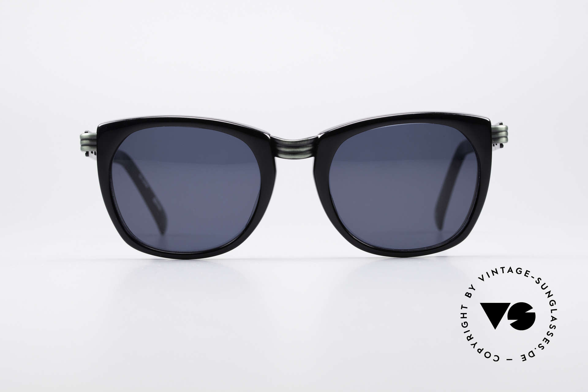 """Jean Paul Gaultier 56-0272 Steampunk 90's Sunglasses, striking frame construction """"steampunk style"""", Made for Men and Women"""