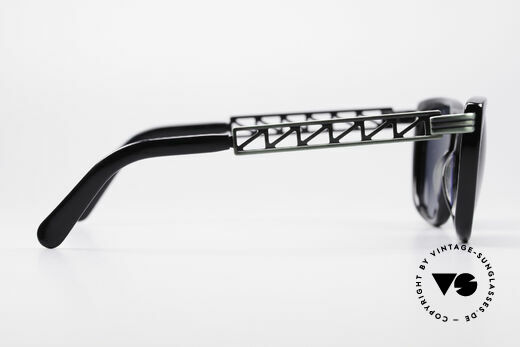 Jean Paul Gaultier 56-0272 Steampunk 90's Sunglasses, the frame can be glazed with optical lenses, too, Made for Men and Women