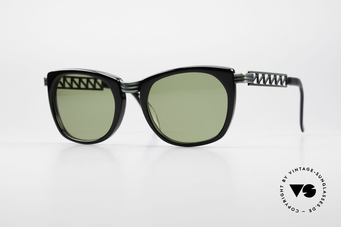 Jean Paul Gaultier 56-0272 90's Steampunk Sunglasses, vintage designer sunglasses by J.P. GAULTIER, Made for Men and Women