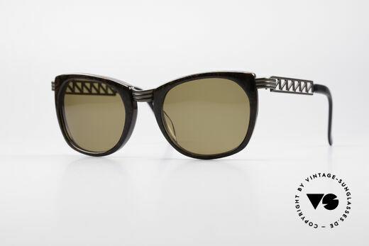 Jean Paul Gaultier 56-0272 Steampunk JPG Sunglasses Details