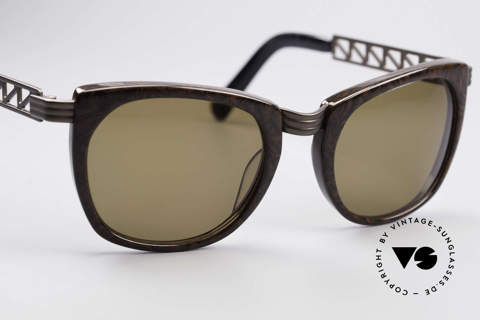Jean Paul Gaultier 56-0272 Steampunk JPG Sunglasses, NO RETRO shades, but a 20 years old ORIGINAL, Made for Men and Women