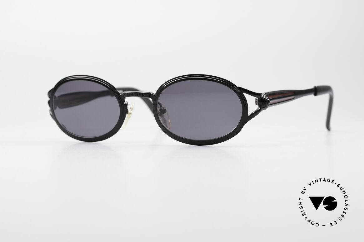 Jean Paul Gaultier 56-7114 Oval Steampunk Sunglasses