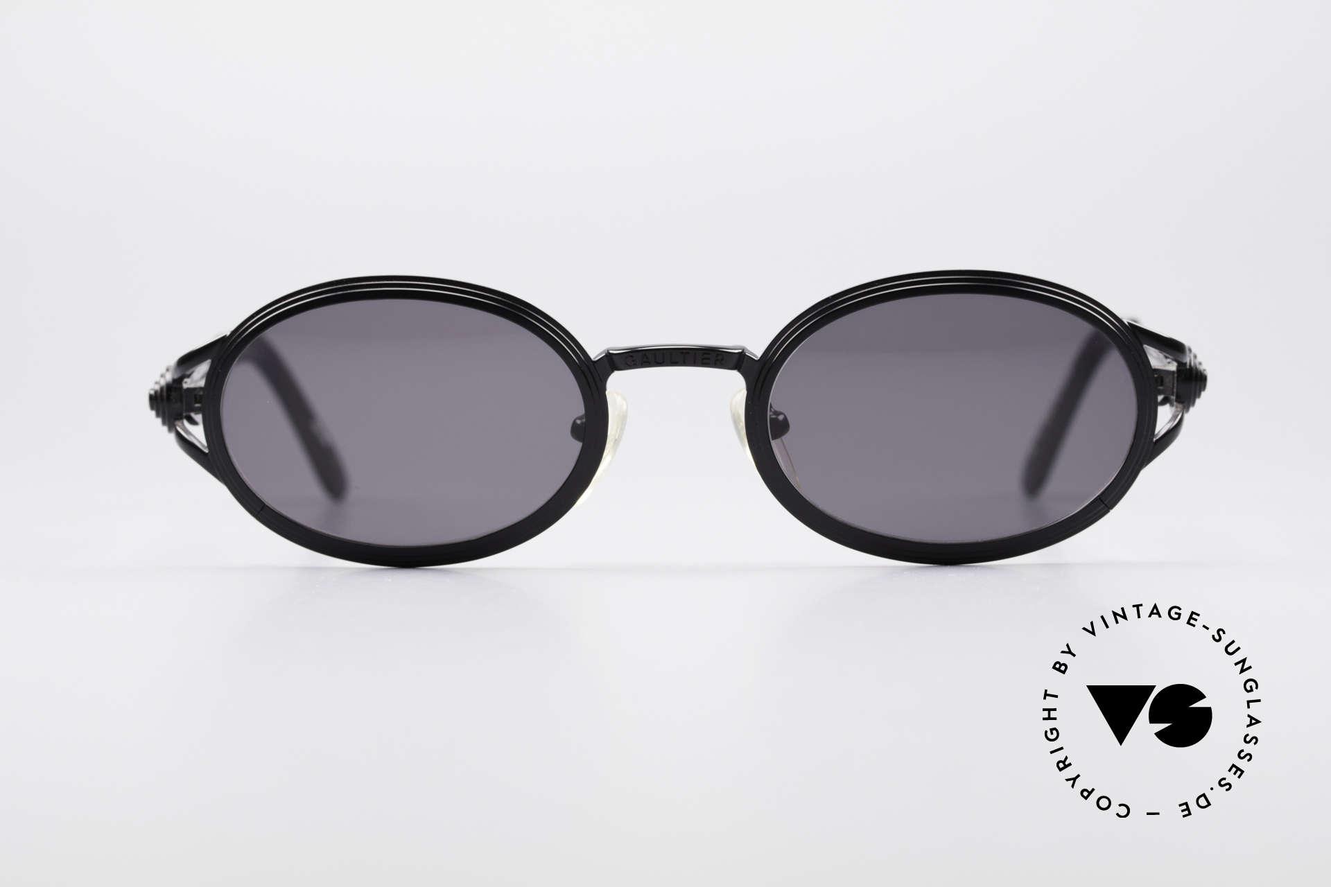 dbf20e2e1 Sunglasses Jean Paul Gaultier 56-7114 Oval Steampunk Sunglasses ...