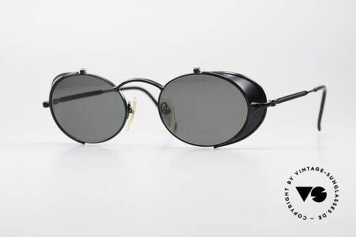 Jean Paul Gaultier 56-1175 JPG Side Shields Sunglasses Details