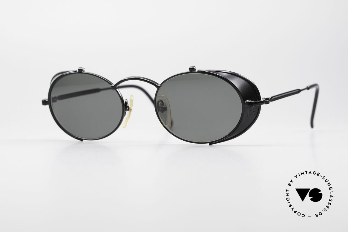 Jean Paul Gaultier 56-1175 JPG Side Shields Sunglasses