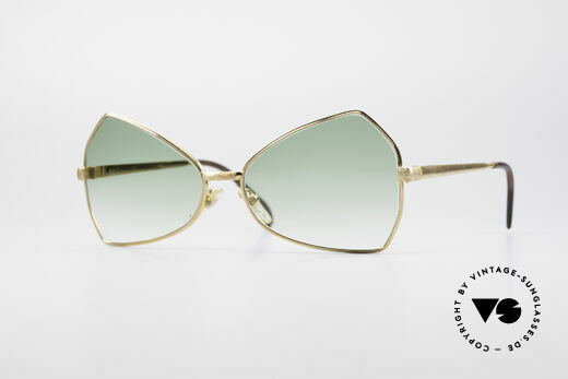 Hampel 6210 Pucci Butterfly 70's Sunglasses Details