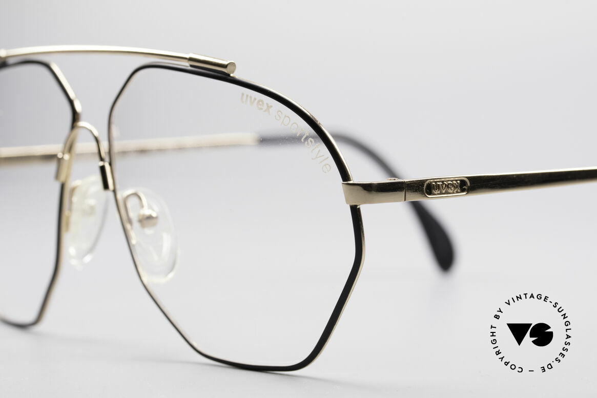 Uvex 5004 Extraordinary Aviator Frame, never worn (like all our UVEX 1980's eyeglasses), Made for Men