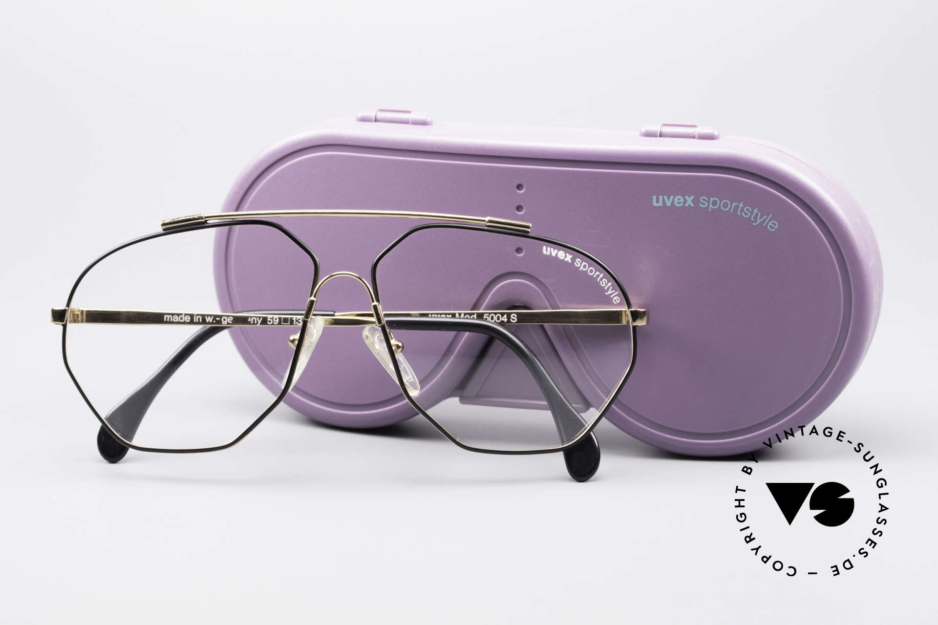 Uvex 5004 Extraordinary Aviator Frame, demo lenses should be replaced with prescriptions, Made for Men