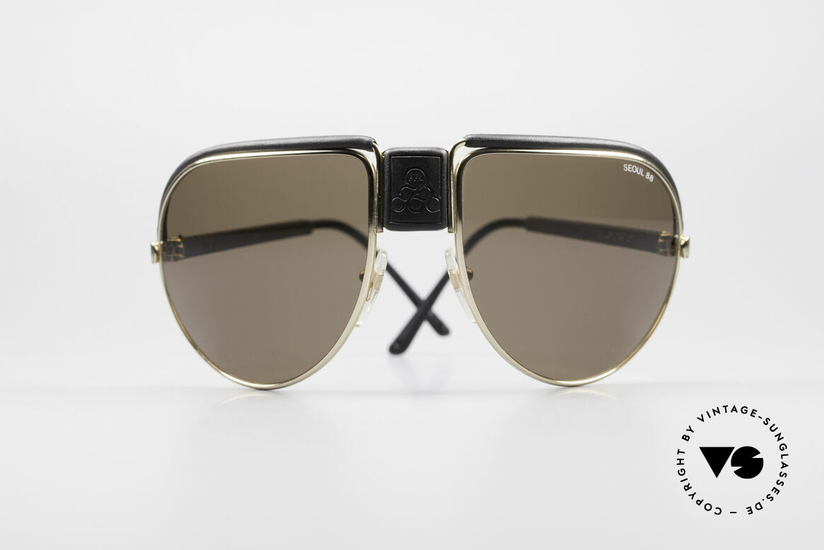 Cebe Seoul 88 Olympic Games Sunglasses, specially produced for the Olympic Games 1988 in Soeul, Made for Men