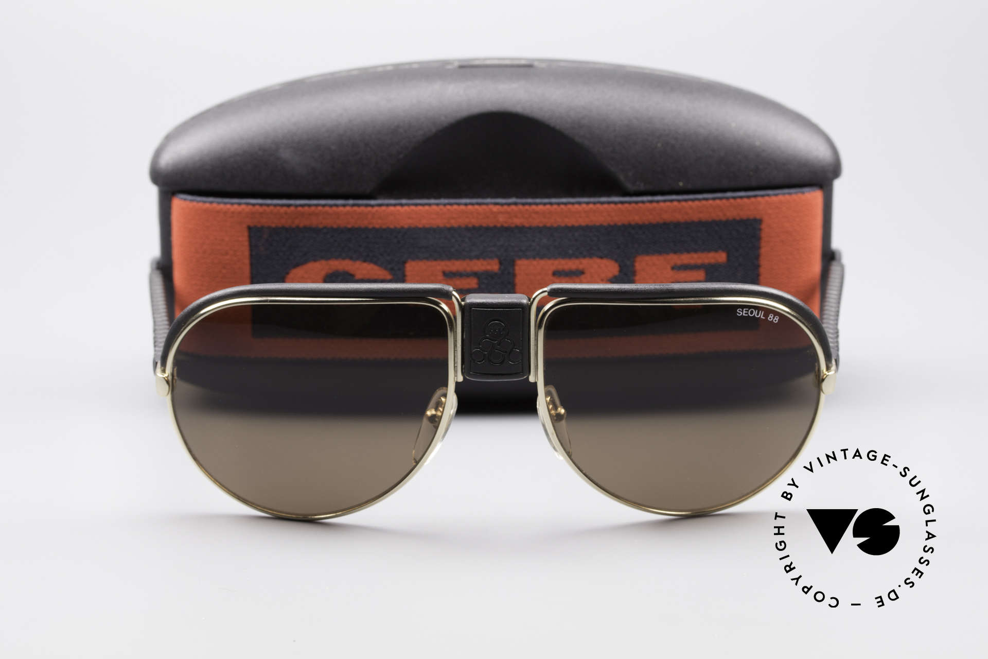 Cebe Seoul 88 Olympic Games Sunglasses, NO RETRO shades, but a precious 30 years old ORIGINAL, Made for Men